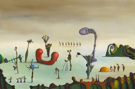 Secret Surrealist: The paintings of 'Naked Ape' zoologist Desmond Morris  01thearena76_465_308_int