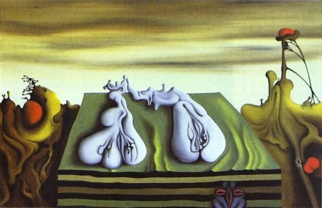 Secret Surrealist: The paintings of 'Naked Ape' zoologist Desmond Morris  02thesentinel76_465_301_int