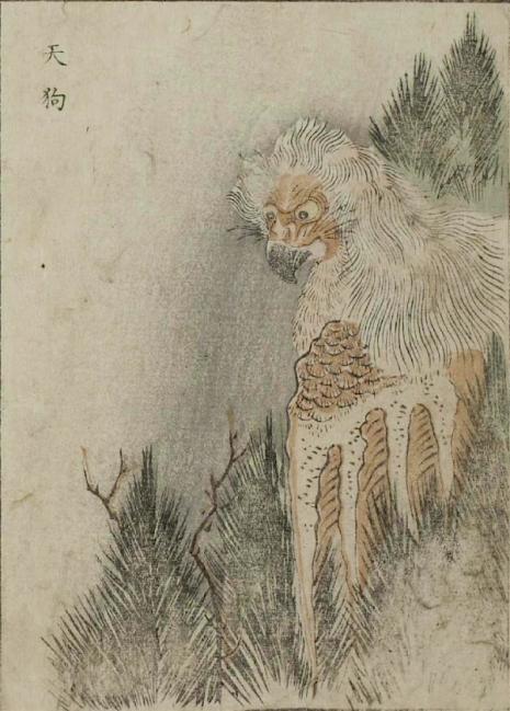 Weird monsters of Japanese folklore  24Tengu_465_649_int