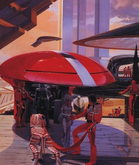 Visual Futurist: Step inside the sci-fi world created by 'Blade Runner' visionary Syd Mead  Meadfutureq09euflkjaslkjfasd_465_552_int