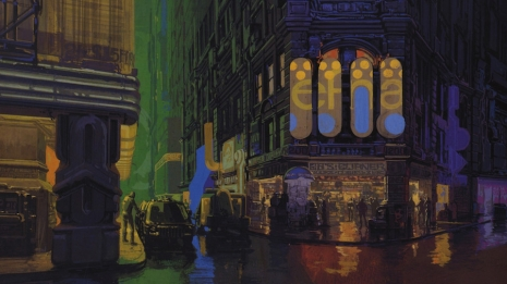 Visual Futurist: Step inside the sci-fi world created by 'Blade Runner' visionary Syd Mead  Sydmeaddowntownnightwetadsklf_465_261_int