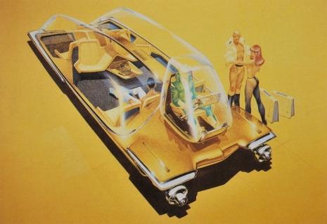 Visual Futurist: Step inside the sci-fi world created by 'Blade Runner' visionary Syd Mead  Sydmeadgoldcarasldkfjsaldkjf_465_319_int