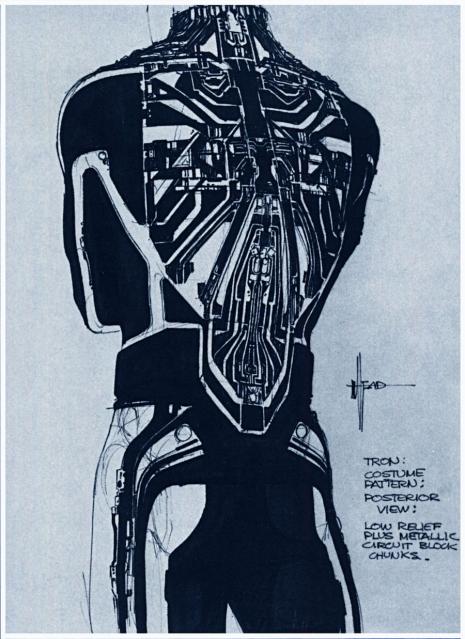 Visual Futurist: Step inside the sci-fi world created by 'Blade Runner' visionary Syd Mead  Tronmeadearlysketchesalsdkjf_465_639_int