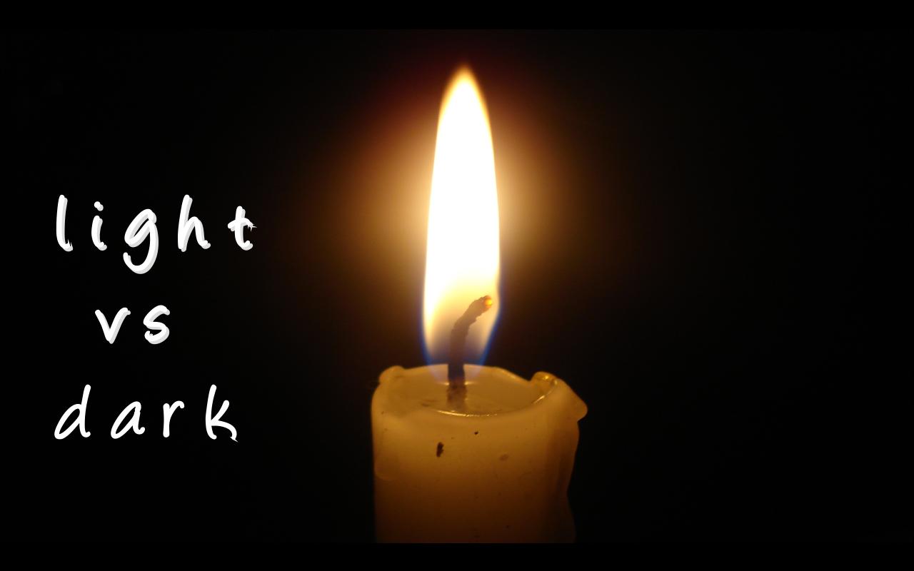White light White heat Light-vs-dark
