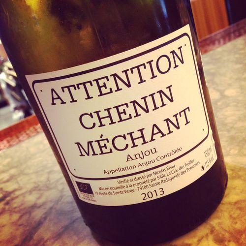 Semaine du 10 mai 2015 Le-Clos-des-Treilles-Attention-Chenin-M%C3%A9chant-Anjou-2013