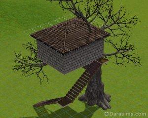 Домик на дереве в The Sims 3! 1356446139_010