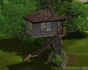 Домик на дереве в The Sims 3! 1356449655_013