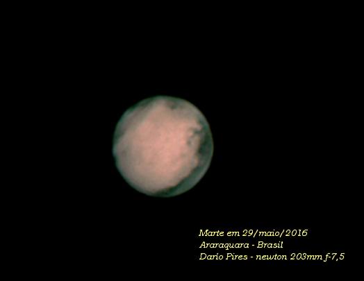 Alguém vai fotografar Marte essa semana? 921