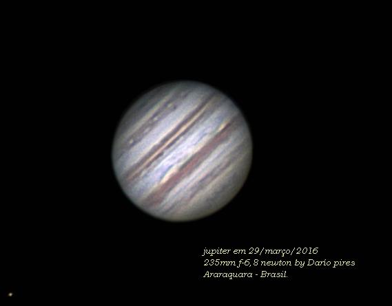 Jupiter e a GMV Jup985