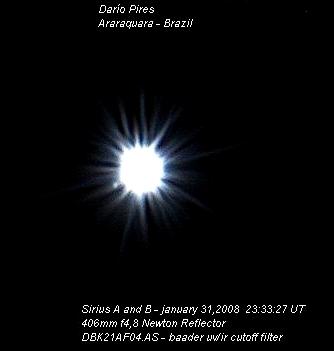 Estrela Acruz. Siriusab