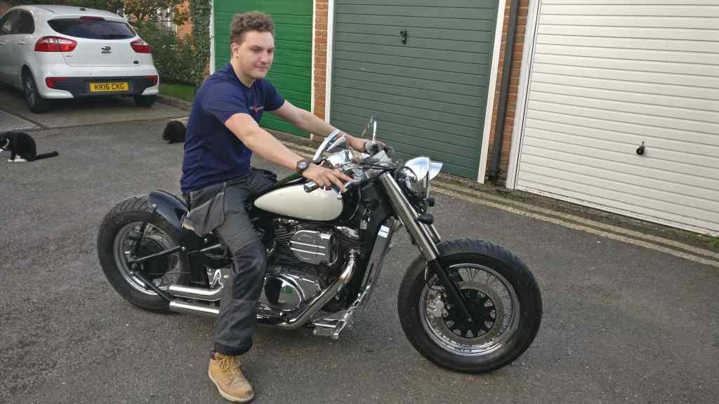 Just built me a bobber from a VL800 29