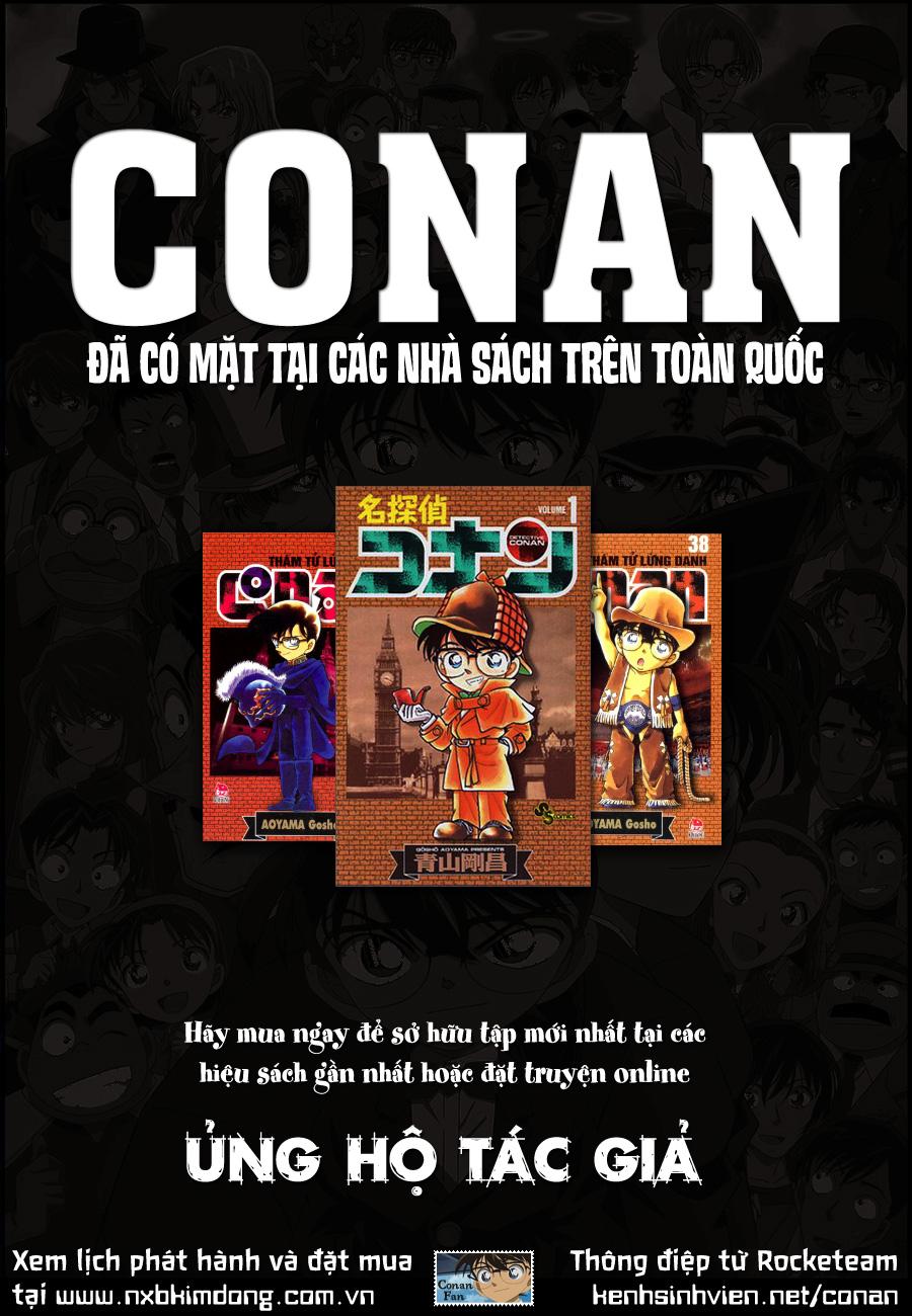 Detective Conan chap 844 ( TV) Rocketeam_Message