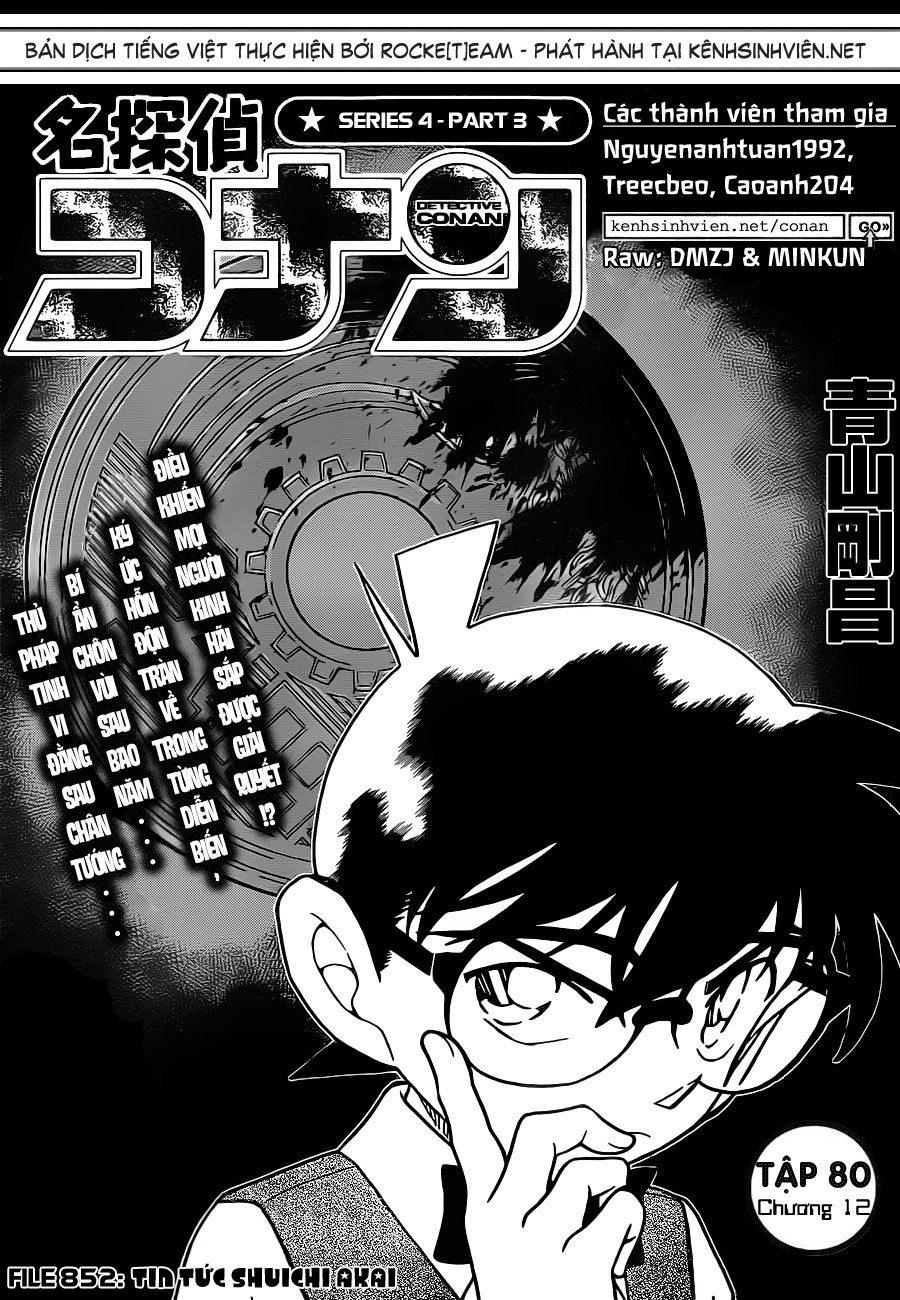 [RAW + TV] Detective Conan chap 852 : Tin Tức Shuuichi Akai KSV_Rocketeam_801201