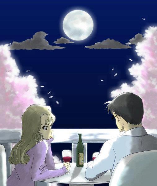 Picture Kudo and Mori (parents) KenhSinhVien-196167-234418803344473-107939765-n
