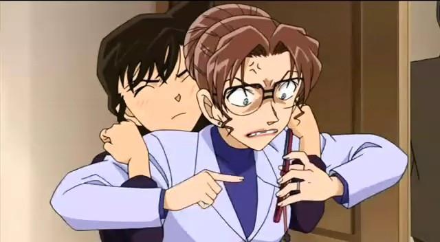Picture Kudo and Mori (parents) KenhSinhVien-399585-10150667541283852-611379279-n