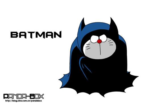 Siêu mẫu doraemon KenhSinhVien.Net-batman