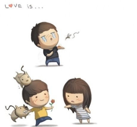 Định nghĩa về tình yêu cực kì ngộ nghĩnh qua tranh KenhSinhVien.Net-1-fe701