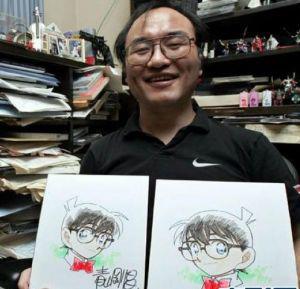 Tung ảnh mừng sinh nhật Kid và Gosho Aoyama [21/6] KenhSinhVien.Net-ga