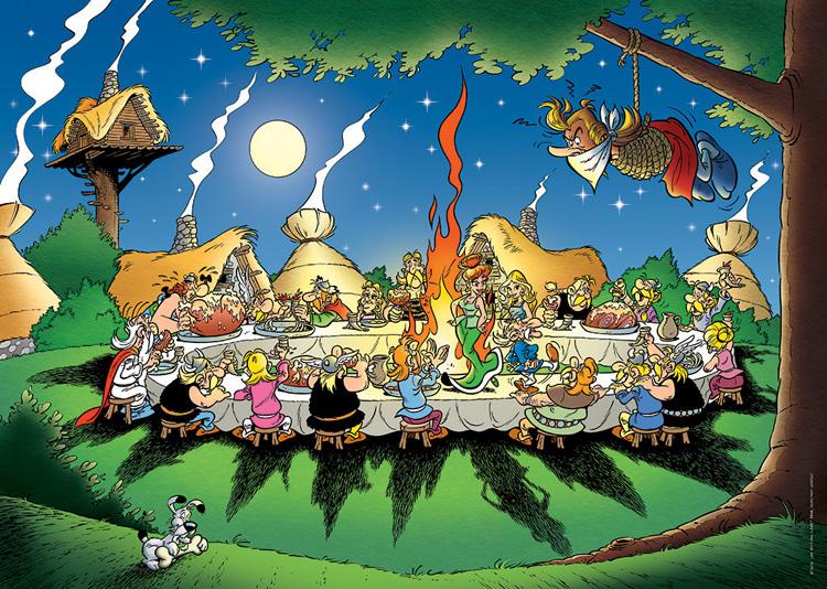 [Jeu] Association d'images - Page 17 87737-asterix-et-obelix-le-banquet-puzzle-1500-pieces.11092-1.fs
