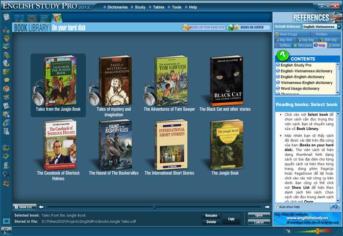 Phần mềm học tiếng Anh Study cực hiệu quả  SinhVienIT.Net---booklib