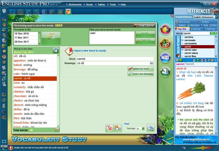 Phần mềm học tiếng Anh Study cực hiệu quả  SinhVienIT.Net---voc