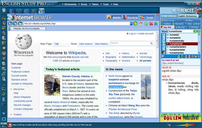 Phần mềm học tiếng Anh Study cực hiệu quả  SinhVienIT.Net---web