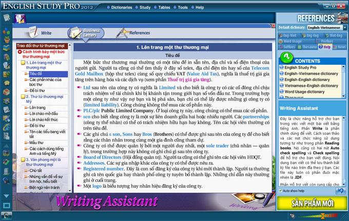 Phần mềm học tiếng Anh Study cực hiệu quả  SinhVienIT.Net---writing