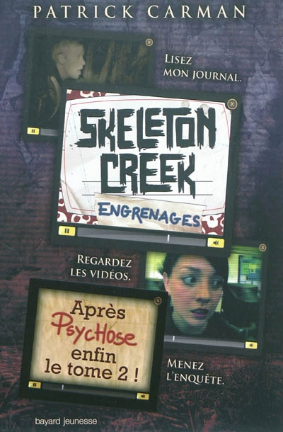 [Carman, Patrick] Skeleton Creek - Tome 2: Engrenages Skeleton%20creek%20-%20engrenages