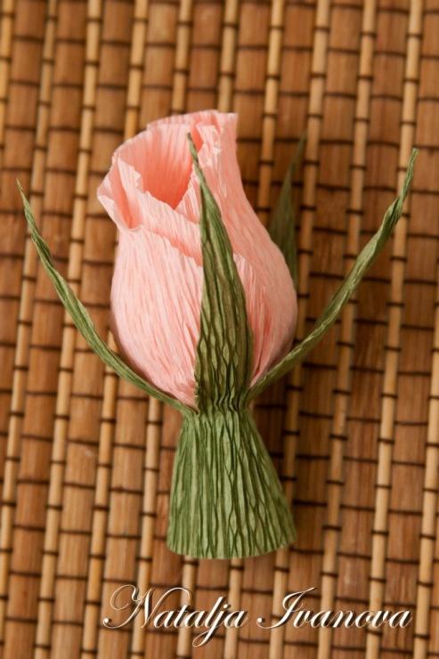 MK Бутон розы из гофр. бумаги. 145576--41425496-m750x740-uc5e53