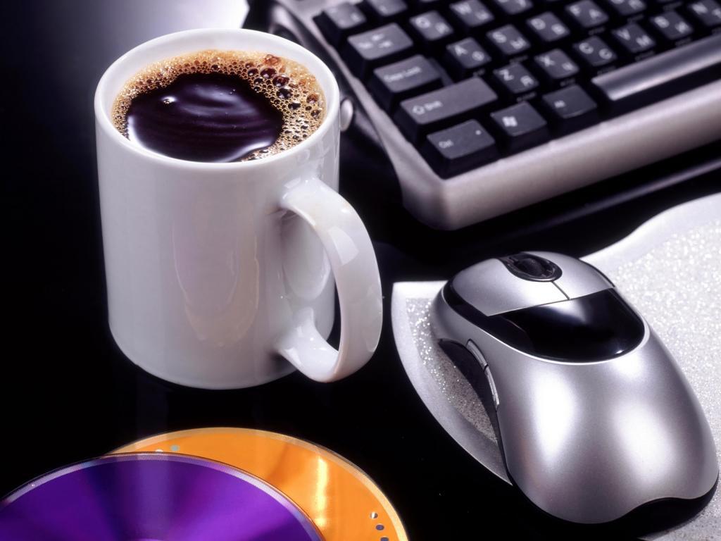 НАША Кофейня - Страница 29 Cup-coffee-keyboard