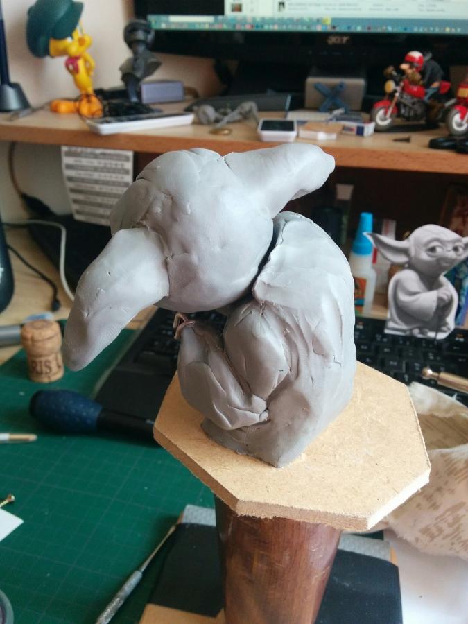 Sculpture de Yoda YoDark_02
