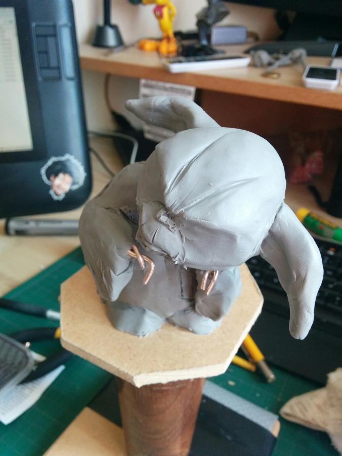 Sculpture de Yoda YoDark_04
