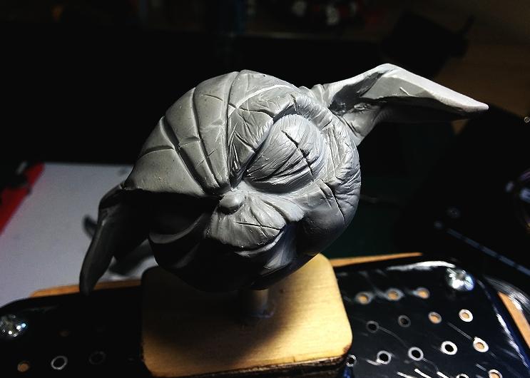 Sculpture de Yoda YoDark_11