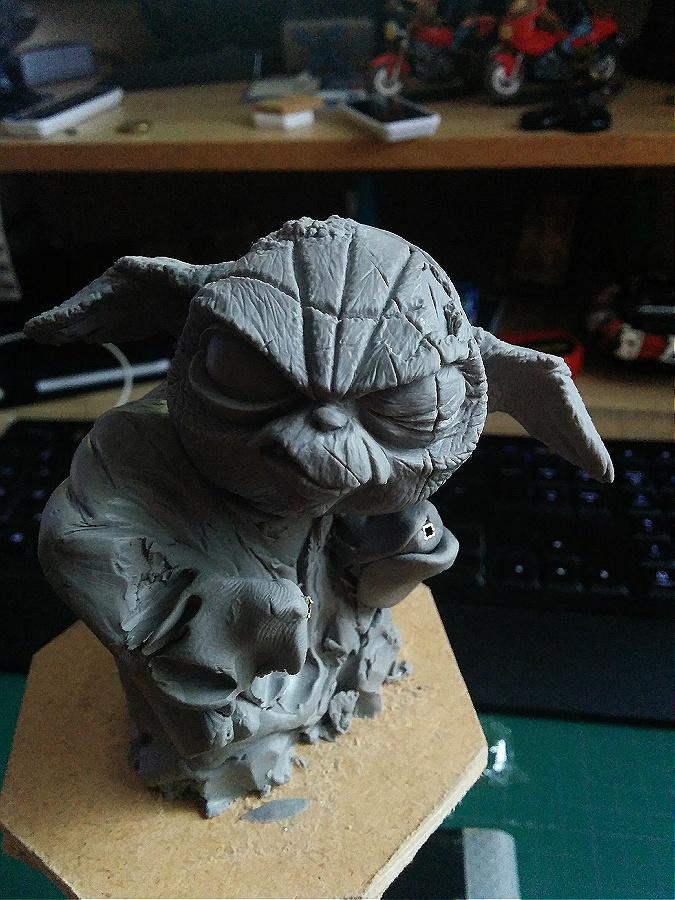 Sculpture de Yoda YoDark_12