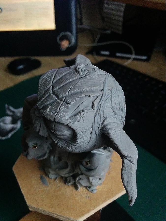 Sculpture de Yoda YoDark_14