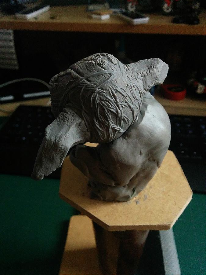 Sculpture de Yoda YoDark_15