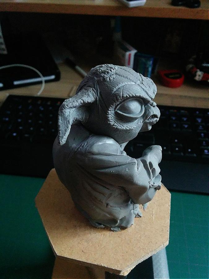 Sculpture de Yoda YoDark_16
