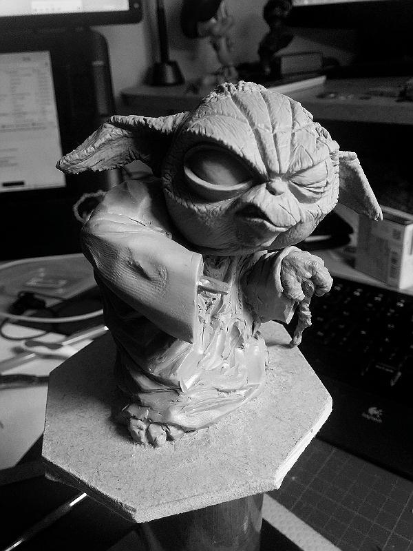 Sculpture de Yoda YoDark_27