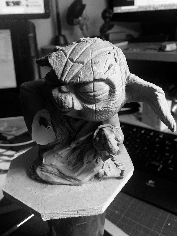 Sculpture de Yoda YoDark_28