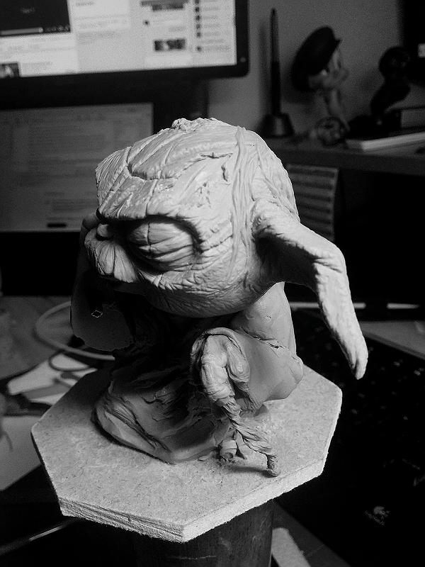 Sculpture de Yoda YoDark_29