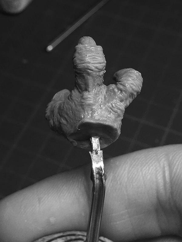 Sculpture de Yoda YoDark_40