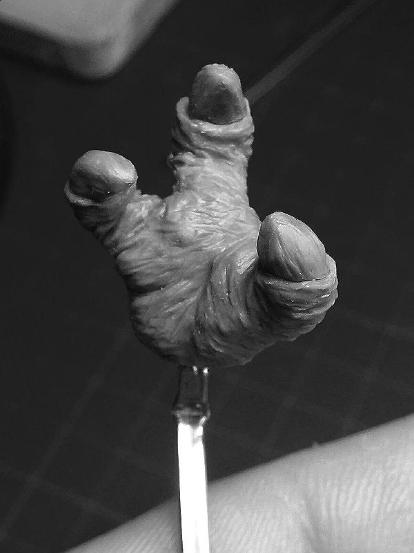Sculpture de Yoda YoDark_41
