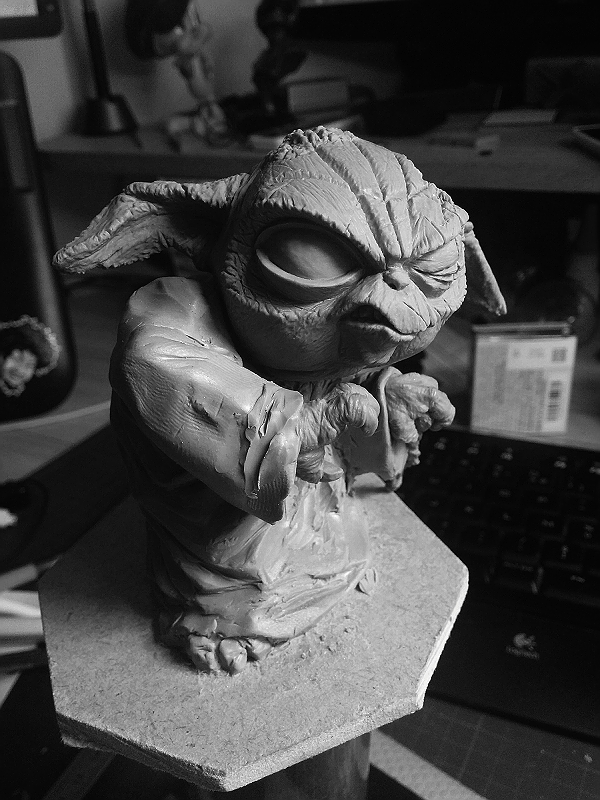 Sculpture de Yoda YoDark_42