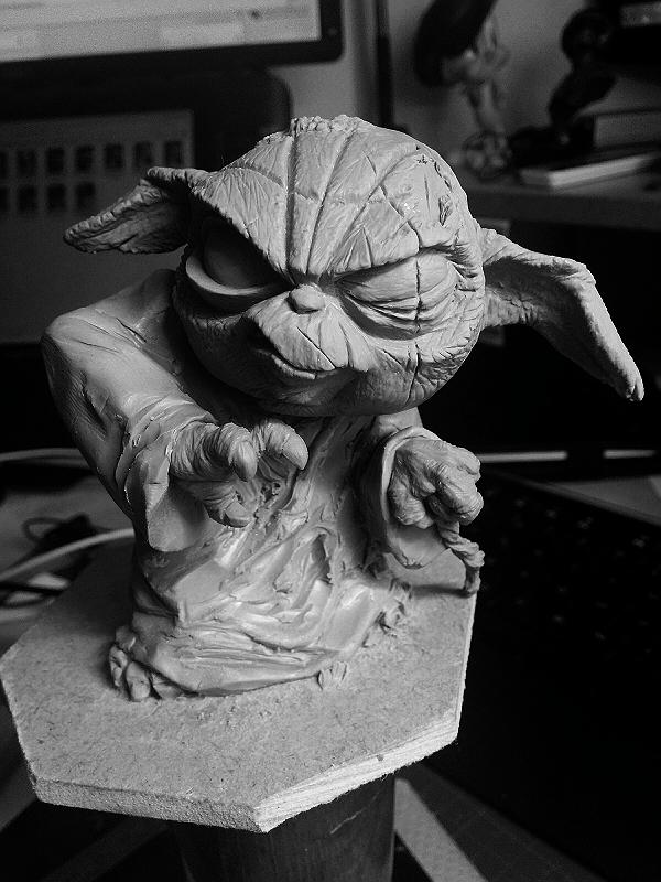 Sculpture de Yoda YoDark_43