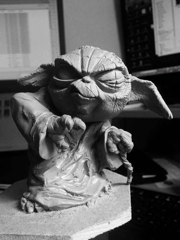 Sculpture de Yoda YoDark_45