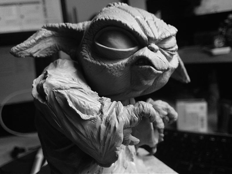 Sculpture de Yoda YoDark_46