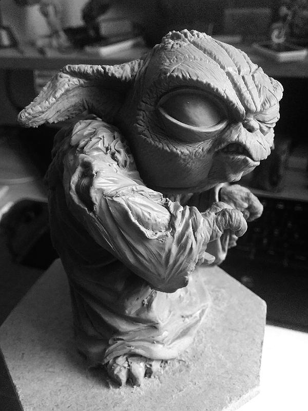 Sculpture de Yoda YoDark_47