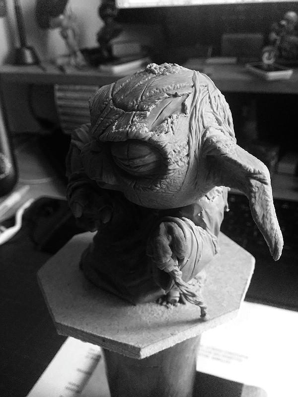 Sculpture de Yoda YoDark_51
