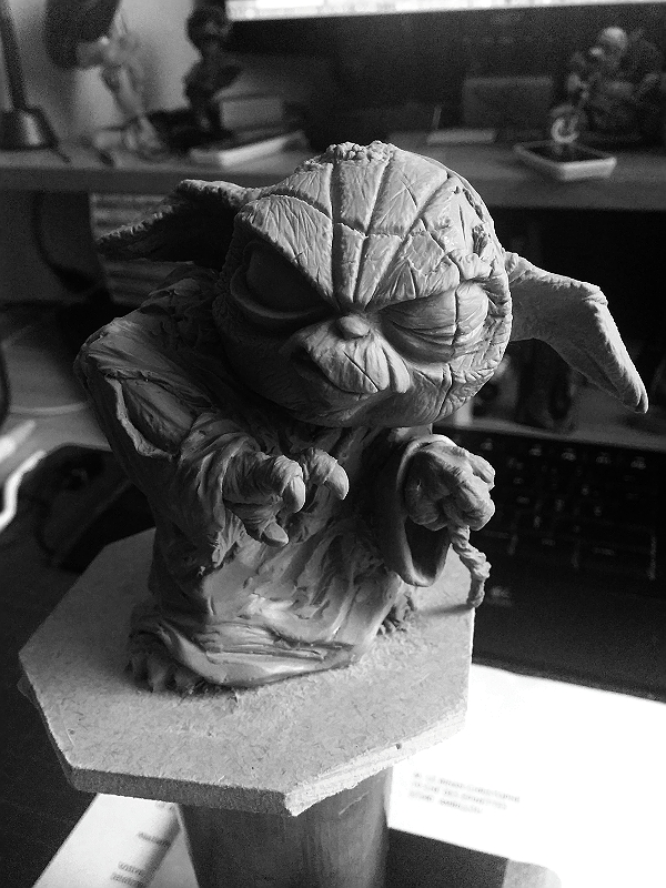 Sculpture de Yoda YoDark_52