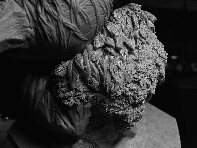 Sculpture de Yoda YoDark_57